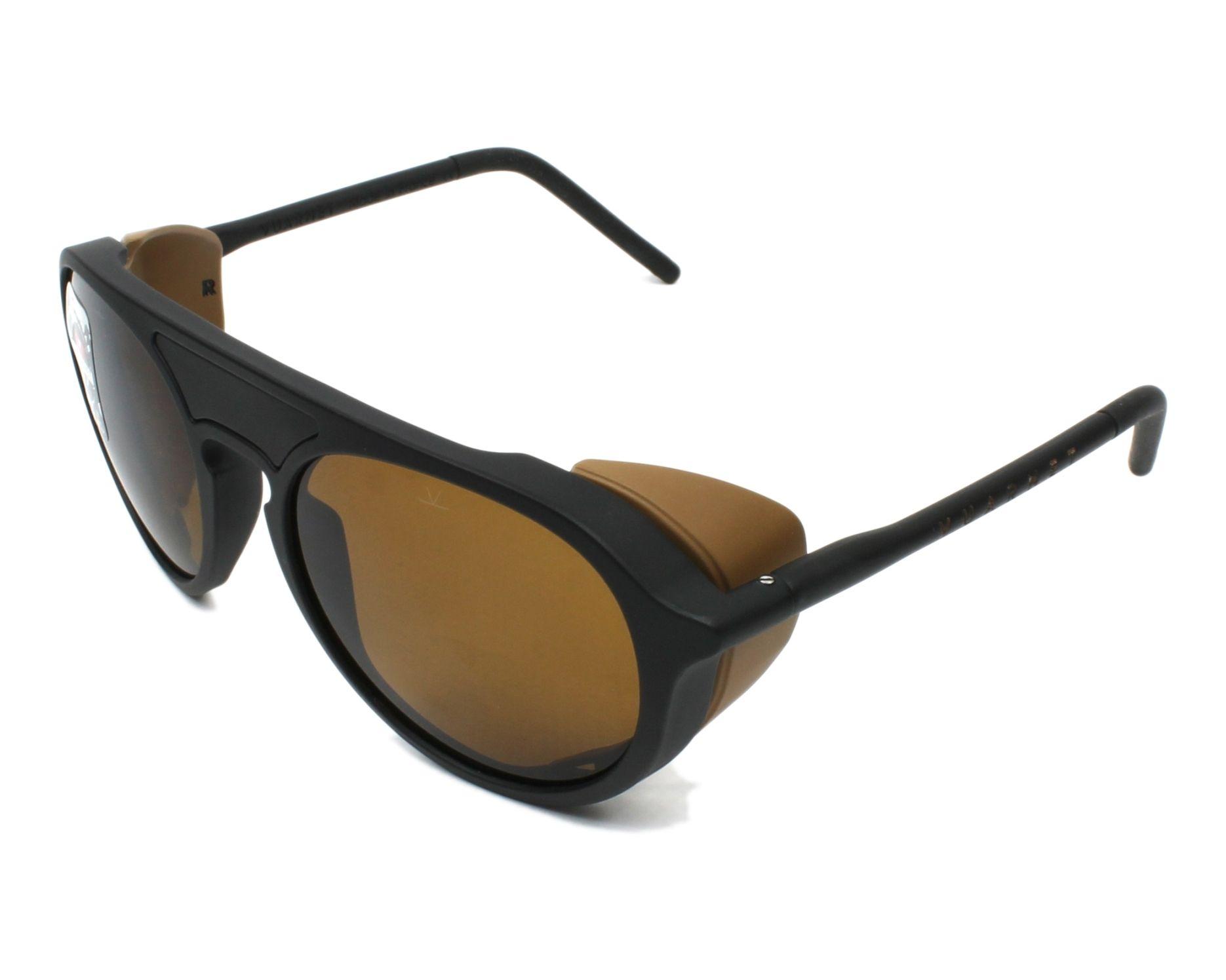 6a94ffad44fb4 Sunglasses Vuarnet VL-1709 0002-2622 51-18 Black profile view
