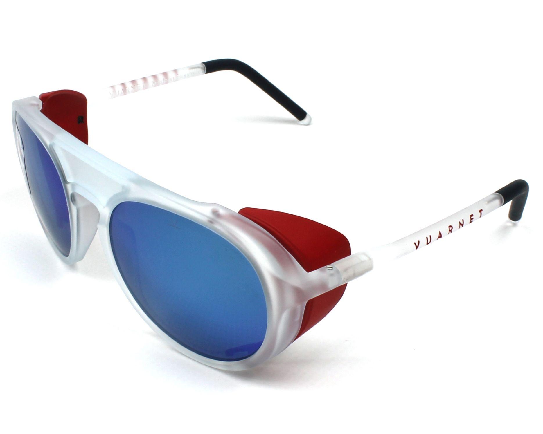 53f1dc28bf0c2 Sunglasses Vuarnet VL-1709 0008-1626 51-18 Crystal profile view