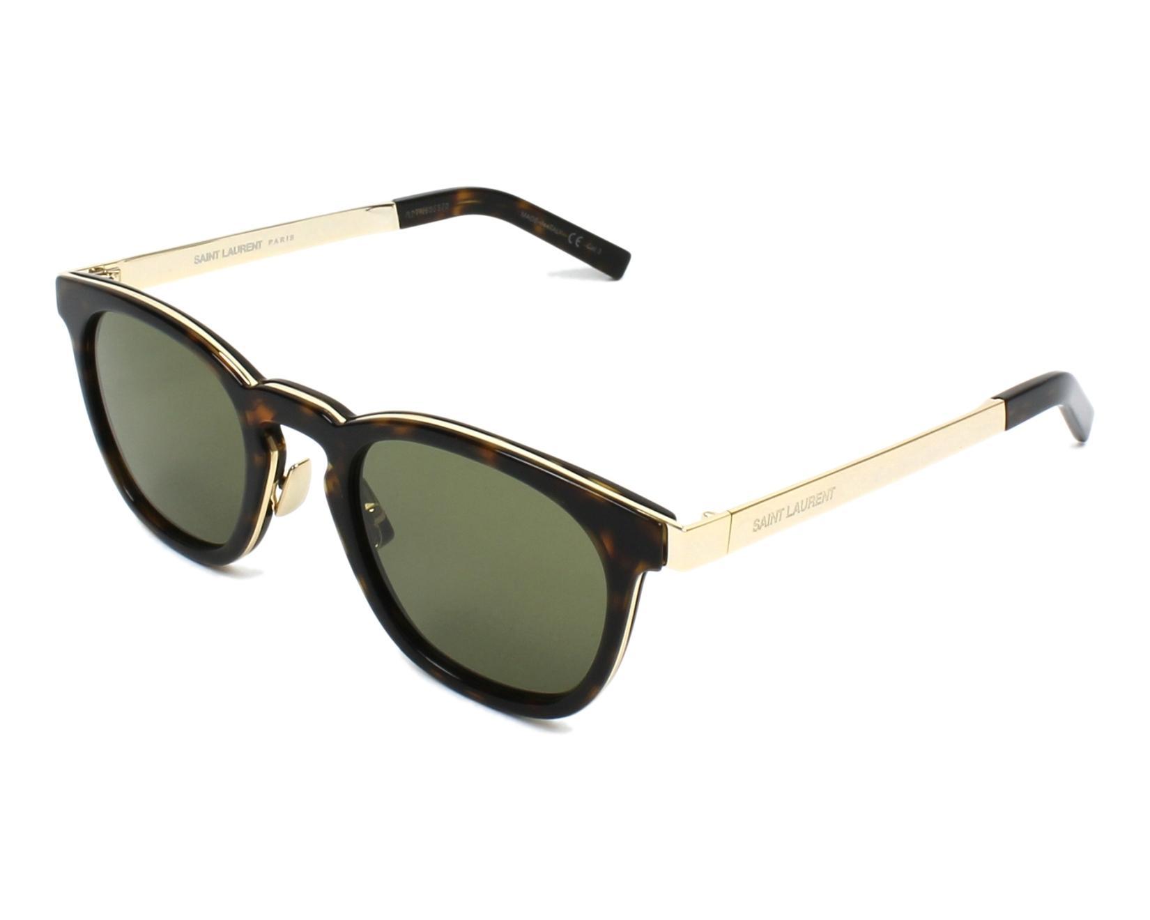Saint Laurent SL28 Sonnenbrille Havana 003 49mm ACwQ4nWs3