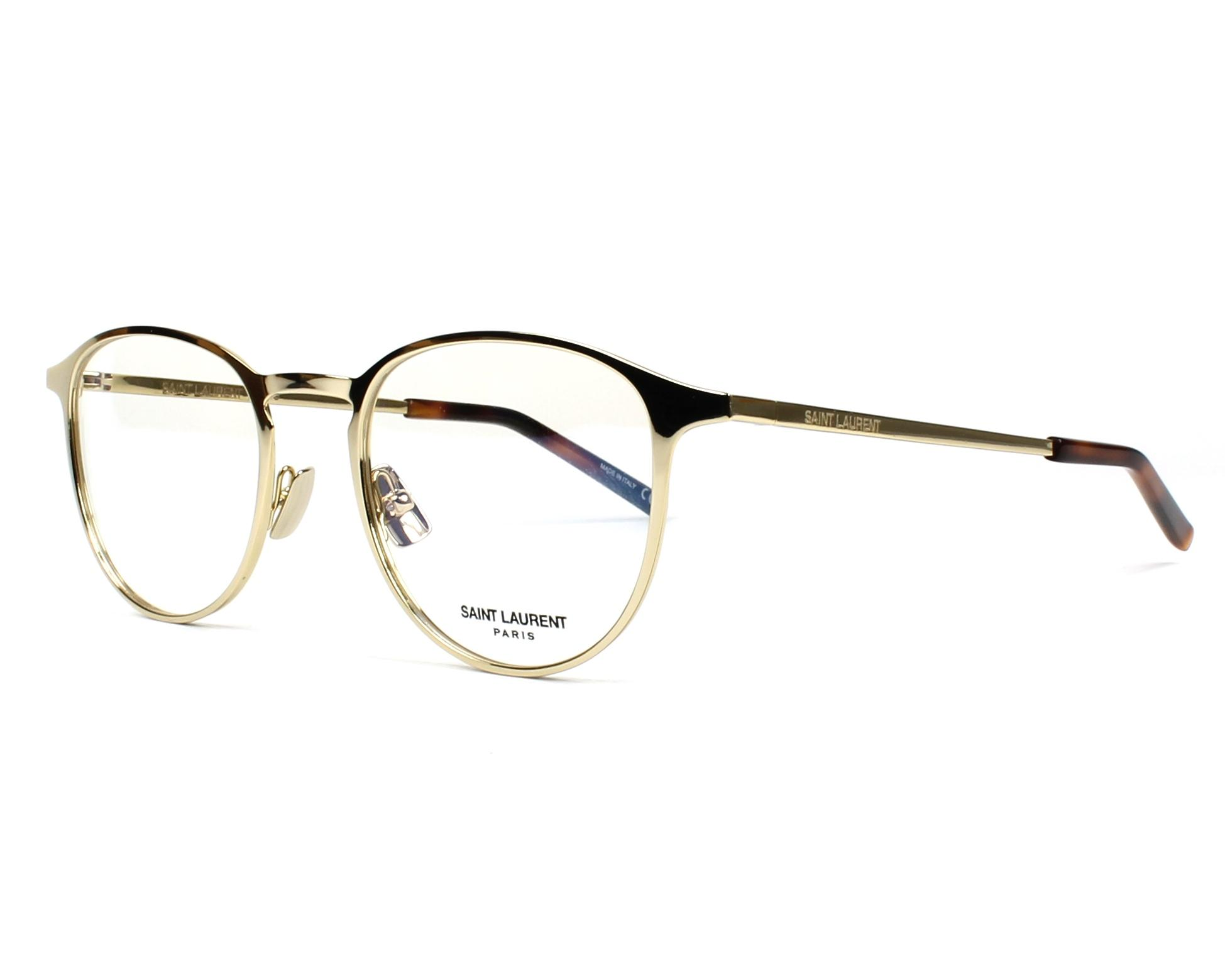 ca53852d79a eyeglasses Yves Saint Laurent SL-179 002 49-20 Gold profile view