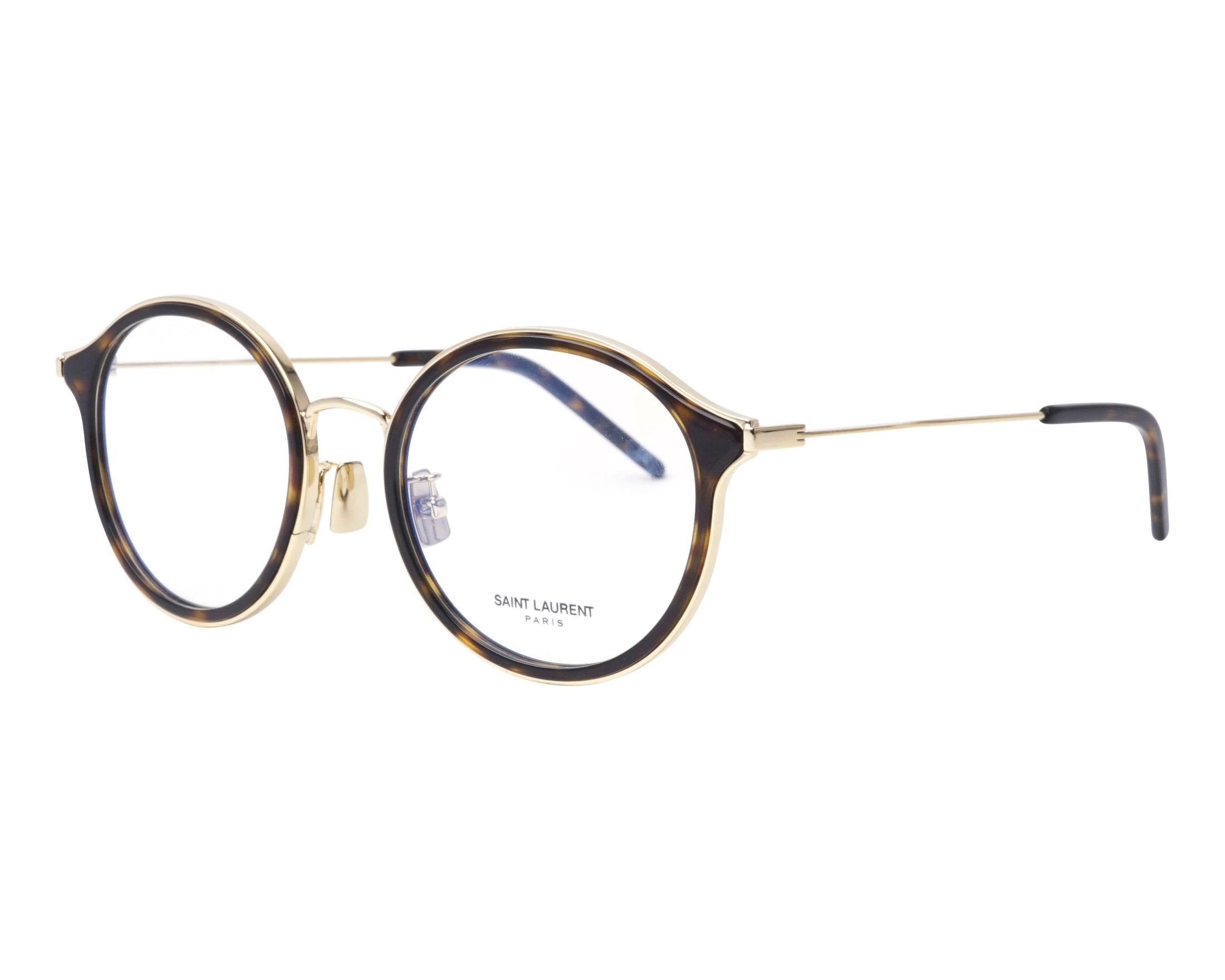 8f436f69d95 eyeglasses Yves Saint Laurent SL-234-F 003 52-21 Havana Gold profile