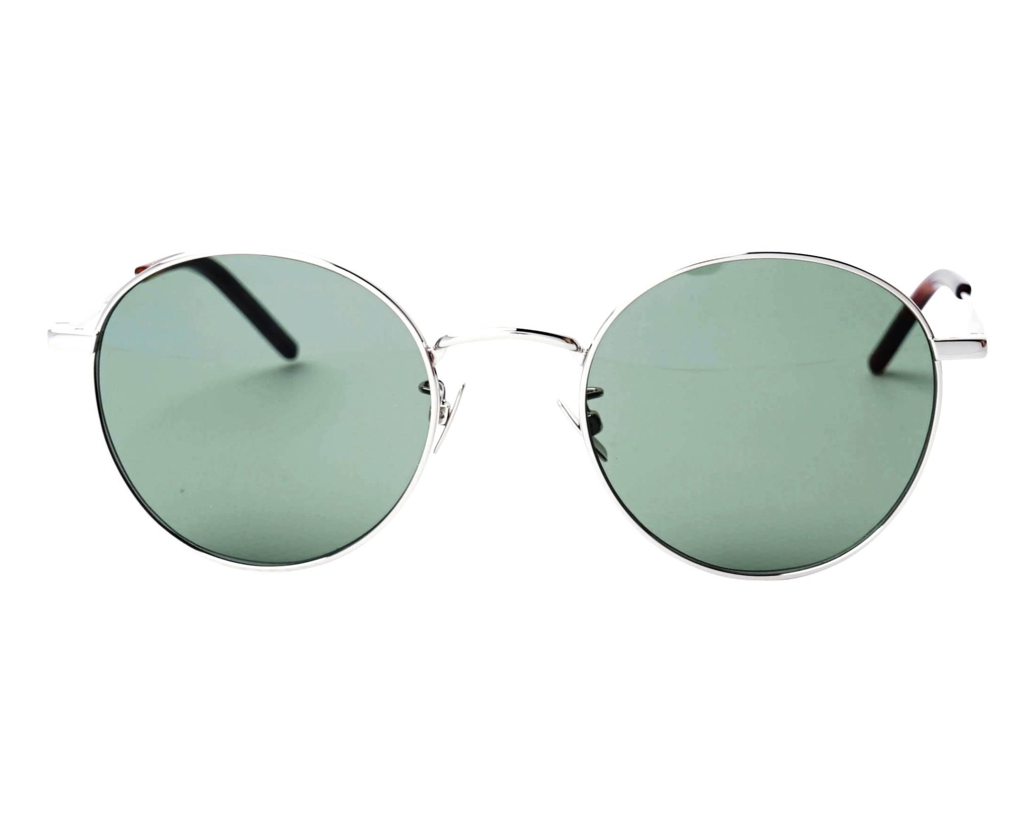 d7933b910a2 Sunglasses Yves Saint Laurent SL-250 002 52-21 Silver front view