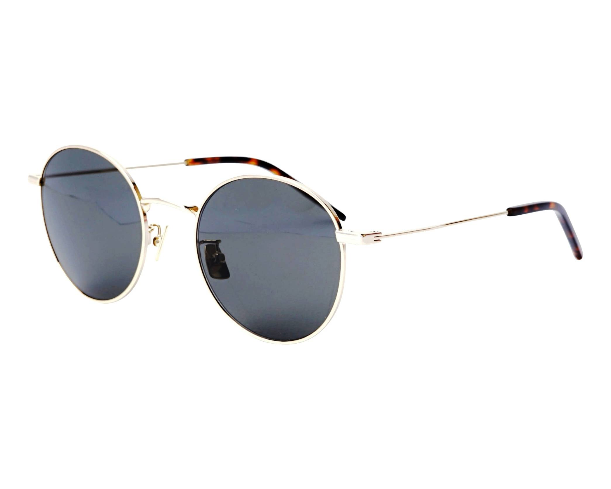 0ada7c08f74 Sunglasses Yves Saint Laurent SL-250 004 52-21 Gold profile view