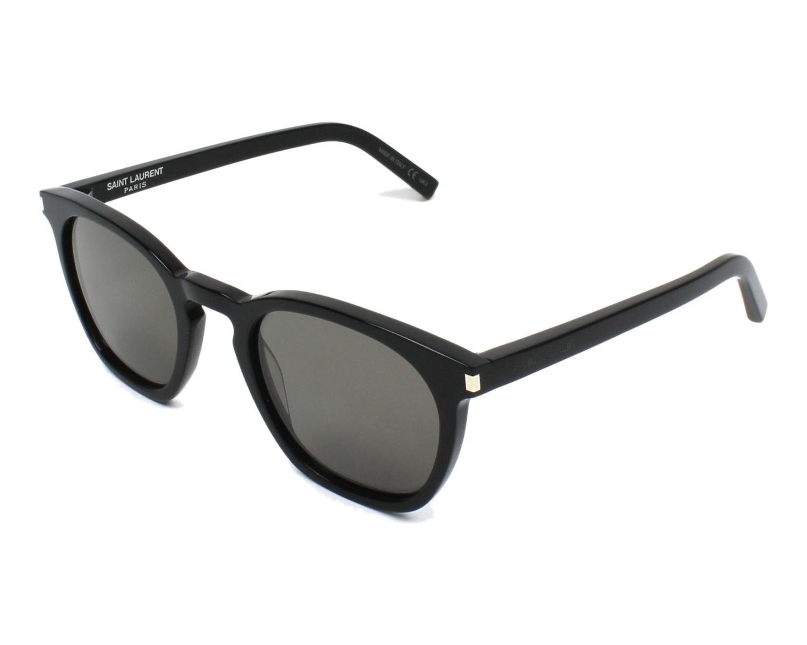 57d6b15f867 Sunglasses Yves Saint Laurent SL-28 022 51-23 Black profile view