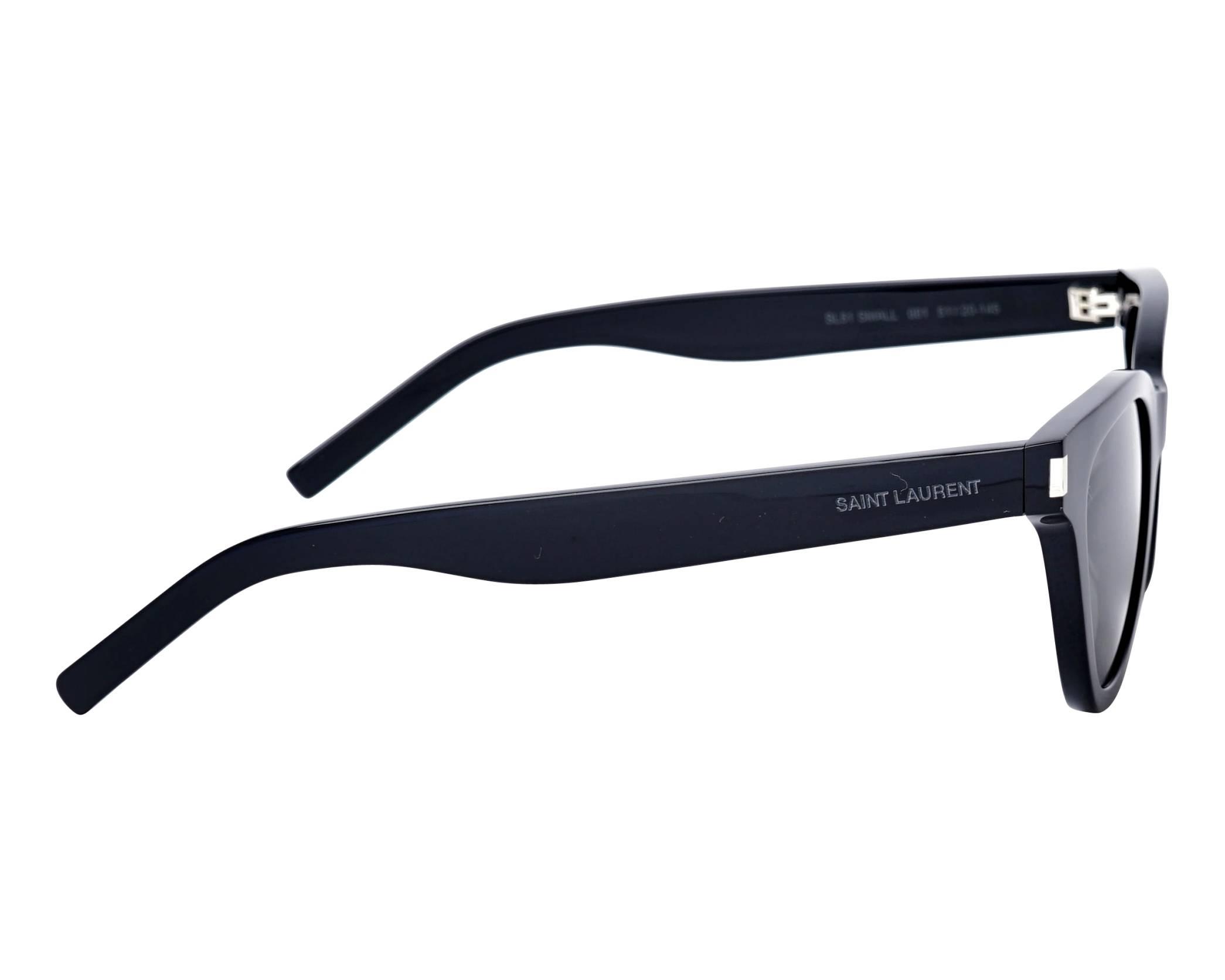 df98c9252bde Sunglasses Yves Saint Laurent SL-51-SMALL 001 51-20 Black side view
