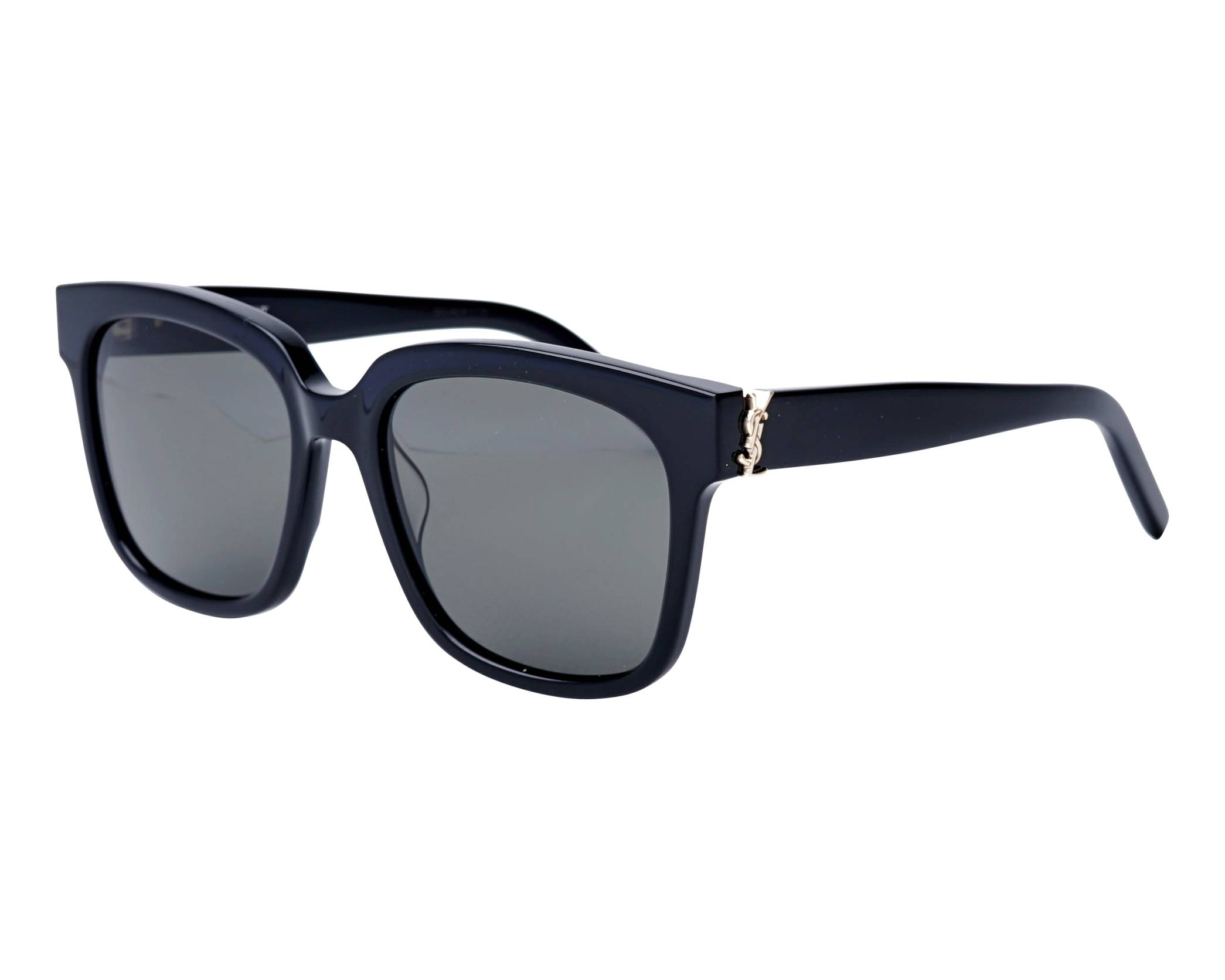 1349858f596 Sunglasses Yves Saint Laurent SL-M-40 003 54-18 Black profile view